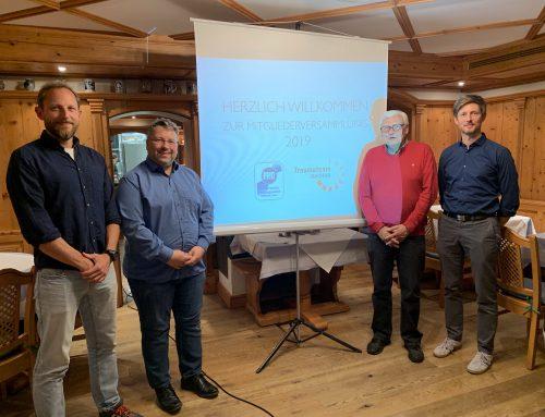 Mitgliederversammlung 2019 – Vorstand stellt sich erneut zur Verfügung!